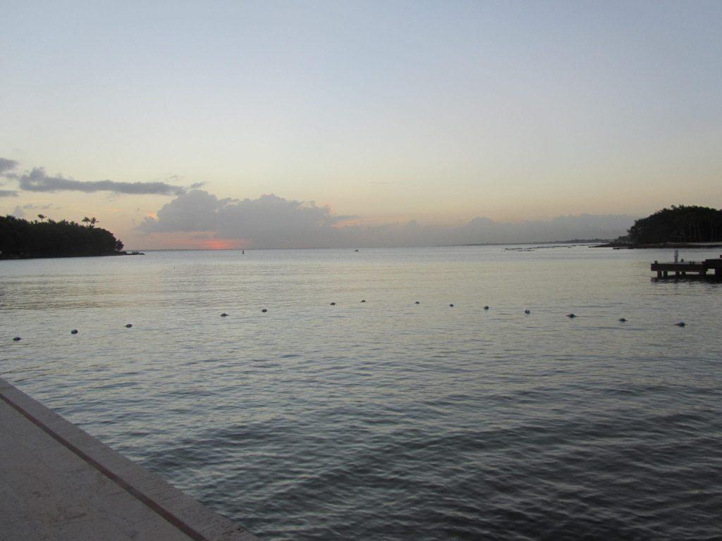 View from a villa in Dominican Republic